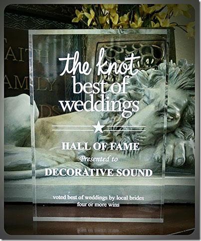 The Knot, Best of Weddings DJ — Decorative Sound